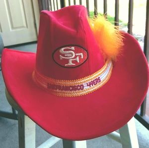 Vintage/collector SF 49er's Cowboy/Girl Hat